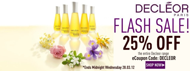 25% OFF Decleor at www.beautyboutique.ie
