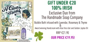 The Handmade Soap Company Duo of bubble bath & hand cream for Mother's Day